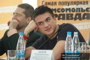 Игорь Гришин и Влад Топалов в Казани.