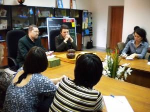 Игорь Гришин и Руслан Дмитриев провели мастер-класс по Стратегическому Го для молодежи Республики Татарстан.