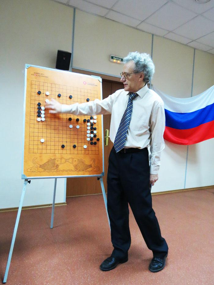 В. Д. Соловьёв, 2012 год